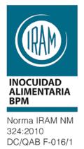 Certificación IRAM - Buenas Practicas Manufacturas